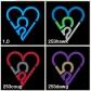 253 Heart Decals